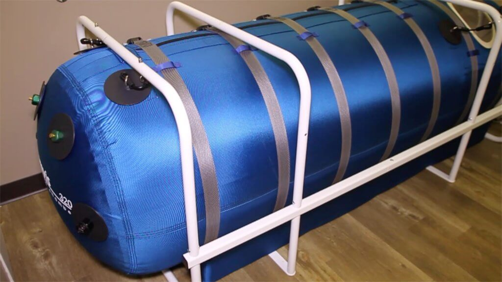A Single Person Hyperbaric Oxygen Therapy Chamber